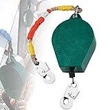 DBZDM Dispositivo Anticaídas Retráctil, Limitador de Caída Personal, Cuerda...