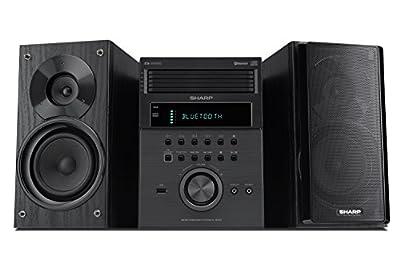 Sharp XL-BH250 Sharp 5-Disc Micro Shelf Speaker System with Bluetooth