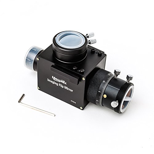 """MEOPTEX 1.25"""" Astrophotography Flip Mirror with precise Micro focuser & Eyepiece Adapter"""
