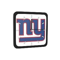 New York Giants Home Office Room Decor Wall Desk Clock Magnet 6x6