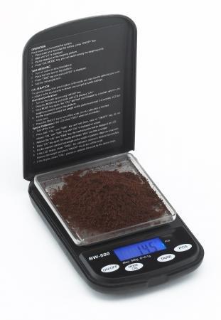 Joe Frex BW-500 Digitalwaage für Kaffee bis 500 gr 0,1g in schwarz