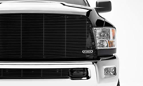 APS Compatible with 2013-2018 Ram 2500 3500 Main Upper Black Billet Grille Insert D86330H