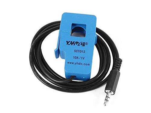 DealMux SCT-013-010 1M 3.5mm-Ausgangsleitungs Split Kernstromwandler 10A 1V