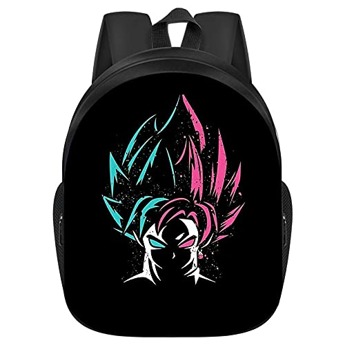 Zaino Anime Dragon Ball Student Schoolbag Grande capacità Leisure Student Youth,giapponesi Borse da scuola Zaini Casual, Zaino Unisex Adulto