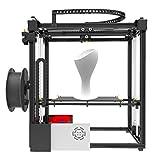SHENLIJUAN Kits de Impresora 3D X5S DIY Dual Z Axis Tamaño de impresión Grande 330 * 330 * 400 mm con Pantalla LCD12864 Marco de Metal