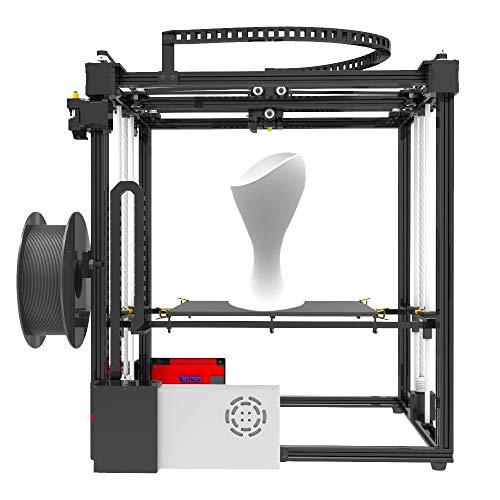 JFCUICAN Imprimante 3D X5S DIY 3D Kits D'Imprimante Double Z Axe Grande Taille d'impression 330 * 330 * 400mm avec LCD12864 Cadre en Métal À Écran