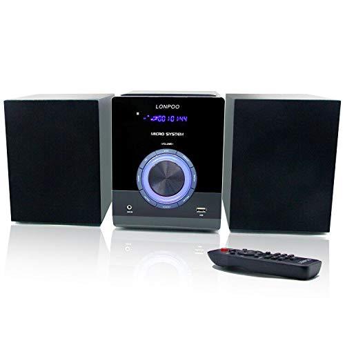Microcadena Sistema Micro HiFi 30W(con Radio FM, microcadena