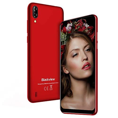 Smartphone Offerta Del Giorno, Blackview A60 Telefono Cellulare 6.1'', Waterdrop Schermo, 4080mAh, 5MP + 13MP Doppia Fotocamera, 128GB Espandibili Offerte Cellulare, 16G ROM Android 8.1 Dual SIM