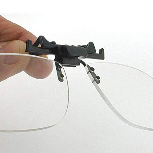 Lupa tipo suplemento para enganchar en las gafas (+2.50)