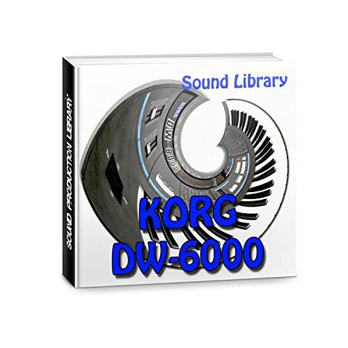KORG DW-6000 - Gran fábrica original y nueva biblioteca de sonido creada/editores en CD o descarga