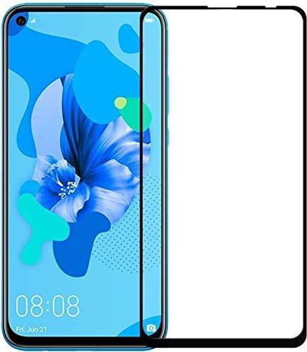 Lustree Vivo Z1 Pro 5D Tempered, Lustree Full Edge To Edge Coverage Tempered Glass For Vivo Z1 Pro - Black