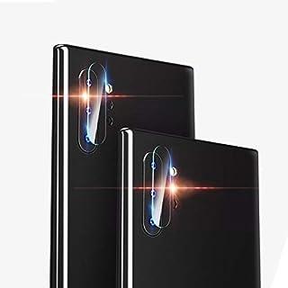 Ebogor Skärmskydd för Samsung Galaxy Note 10, rundkant bakkamera lins tempererad glasfilm, 0,15 mm 9h 2,5d