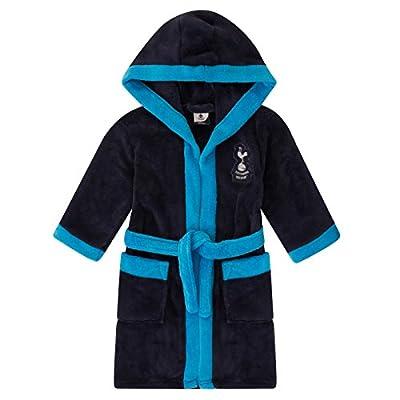 Tottenham Hotspur FC Official Gift Boys Fleece Dressing Gown Robe Navy 11-12 Yrs