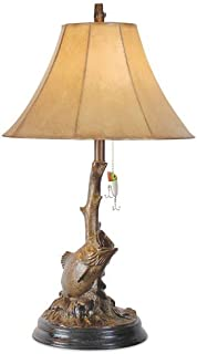 Vintage Direct - Bass Fishing Table Lamp