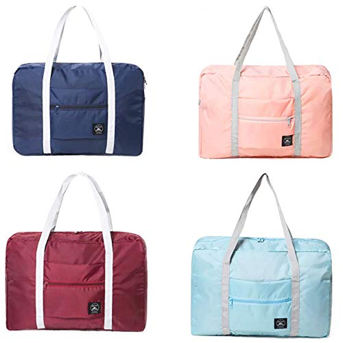 Bolsa de lona para llevar en el hombro, 48 x 32 x 16 x 16 x 16 x 16 x 16 cm, ligera, impermeable, plegable, bolsa de transporte