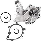 BOXI 11510393336 Water Pump Kit w/Gasket Replacement for 4.4L 4.6L BMW E39 E38 E53 540i 740i 740iL X5 1999 2000 2001 2002 2003 / Range Rov-er 2003 2004 2005 HSE Replace 11511713266 131-2325