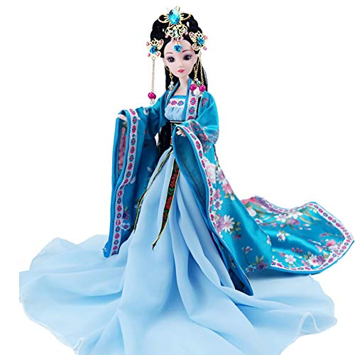UR MAX BEAUTY Chinesische Puppe 12 Zoll Serie Puppe Antike Prinzessin Szene Dekoration,Ankexin