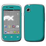 atFolix Skin kompatibel mit Wiko Ozzy, Designfolie Sticker (FX-Soft-Turquoise), Matte Oberfläche