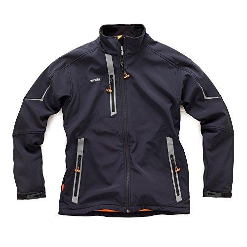 Scruffs Men's Pro Softshell Jacket - Black, Medium