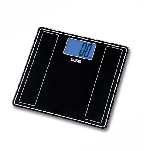 Tanita HD-382 Black Glass Digital Bathroom Scale by Tanita