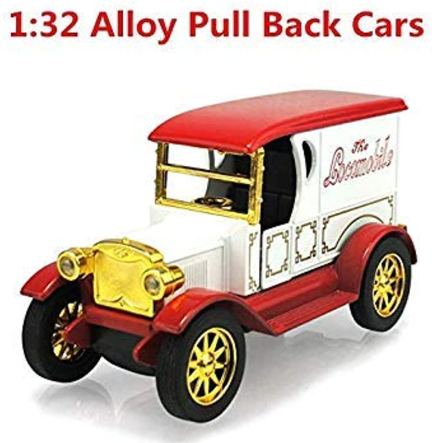 1 32 Alloy Antique Classic car Model Sound and Light Back to Power, Classic Collection, highGrade Ornaments