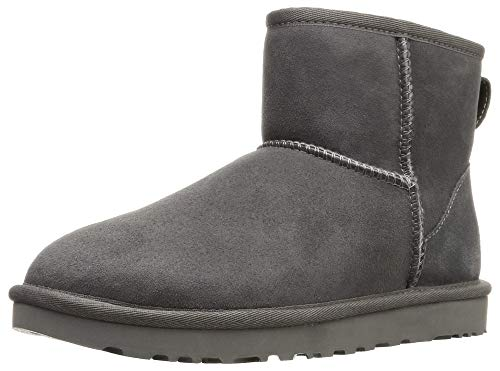 UGG Female Classic Mini II Classic Boot, Grey, 5 (UK)