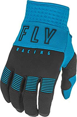 FLY Racing Youth F-16 Gloves, Protective Neoprene Motorcycle Hand Gear, Padded Palm, Reinforced Thumb, Silicone Grip