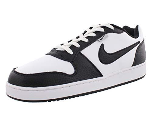 Nike Herren EBERNON Low PREM Basketballschuhe, Weiß (White/Black/Wolf Grey 102), 41 EU