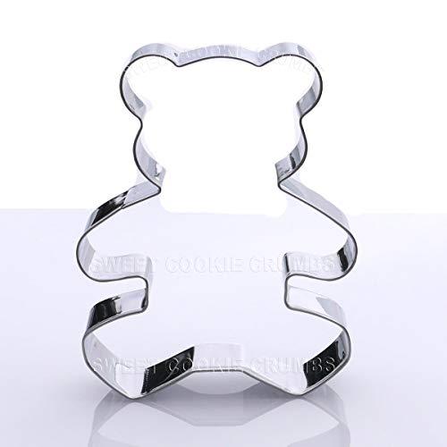 Teddy Bear Cookie Cutter - Stainless Steel