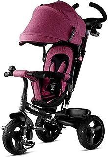 JINHH Barnvagn, barnvagn Tricycle Mångsidig 1–5 år gammal bagagevagn och barnvagn, lätt vikbar buggy