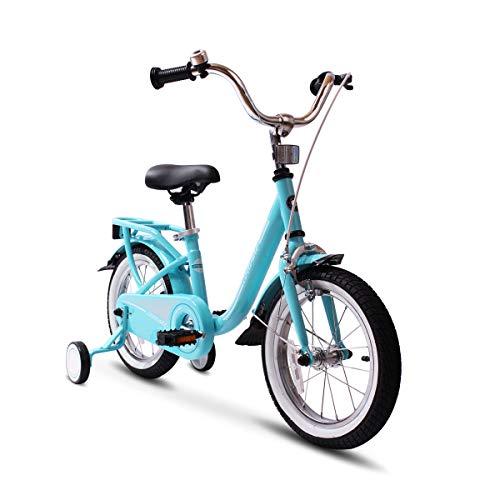 COEWSKE Bicicleta niños Marco Acero niños