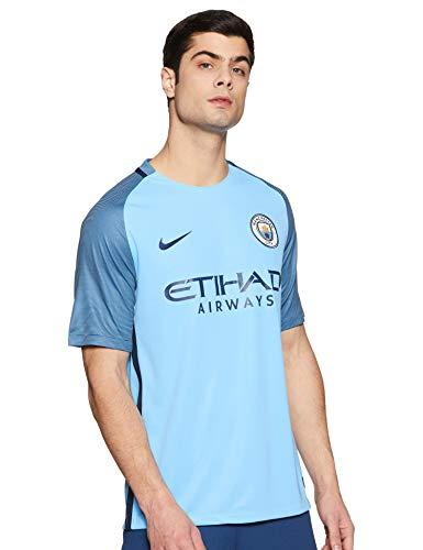 Nike Herren Manchester City FC Stadium Trikot, Field Blue/Midnight Navy, M