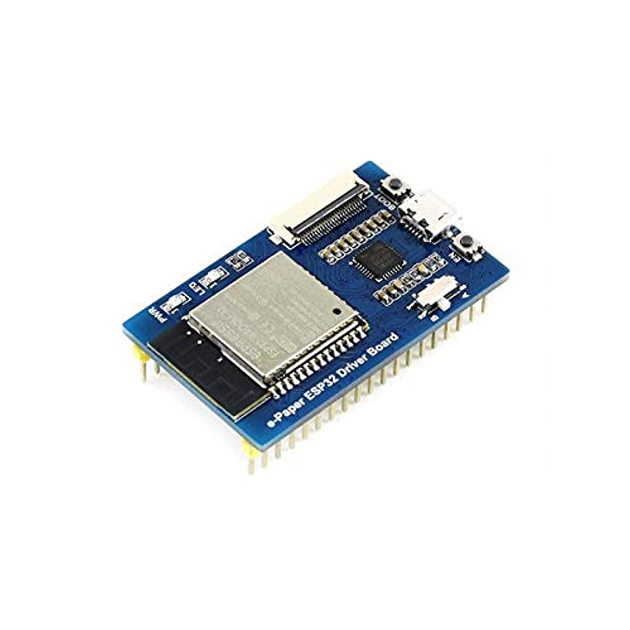 鎮痛剤十分に防水GzPuluz 拡張ボード 多機能 モジュールキット 普遍的な電子ペーパー未加工パネルの運転者板、ESP32 WiFi/Bluetoothの無線電信 モジュール拡張アクセサリー