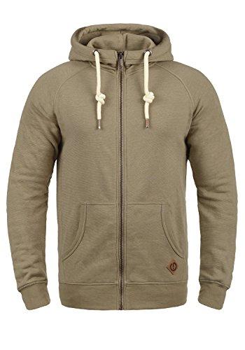 !Solid Vitu Herren Sweatjacke Kapuzenjacke Hoodie mit Kapuze und Reißverschluss, Größe:M, Farbe:Sand Melange (8409)
