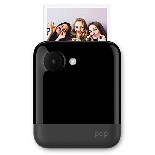 Polaroid POP 3x4 (7.6x10 cm) Sofortdruck-Digitalkamera mit Zink Zero Tintendrucktechnologie – Schwarz