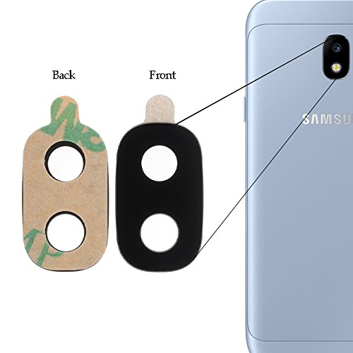 BisLinks for Samsung Galaxy J3 2017 Rear Back Camera Glass Lens Cover SM-J330 Replacement