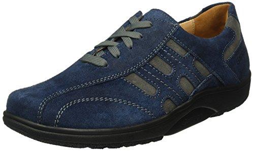 Ganter AKTIV HEIMO, Weite H, Herren Sneakers, Blau (navy / darkgrey 3166), 44.5 EU (10 UK)