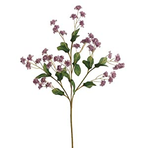 19″ Silk Double Baby's Breath Flower Spray -2 Tone Lavender (Pack of 24)