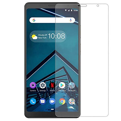 Casodon Case Friendly Screen Protector Shield Tempered Glass for Lenovo Tab V7-2.5D Curved Edges
