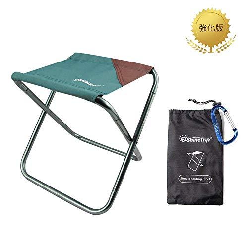 OMUKYアウトドア チェア 「強化版携帯椅子」キャンプ 椅子 おりたたみいす 抜群耐久性 持ち運び便利 携帯椅子 超軽量 コンパクト 観戦椅子 (ダークグリーン)