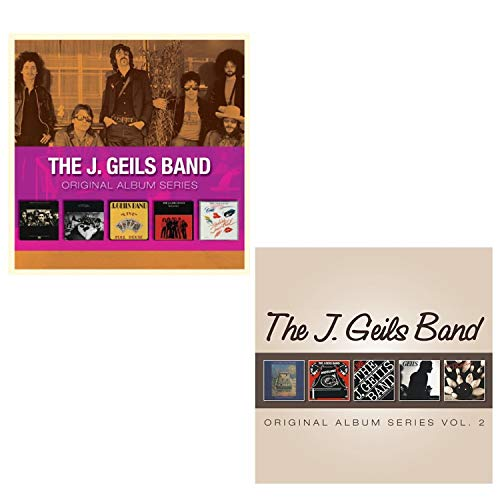 The J. Geils Band - Original Album Series Vol. 1 and 2 - The J. Geils Band Greatest Hits 10 CD Album Bundling (Best Of The J Geils Band)