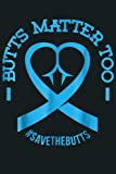 Save The Butts For Colon Rectal Anal Cancer: Notebook Planner - 6x9 inch Daily Planner Journal, To Do List Notebook,...
