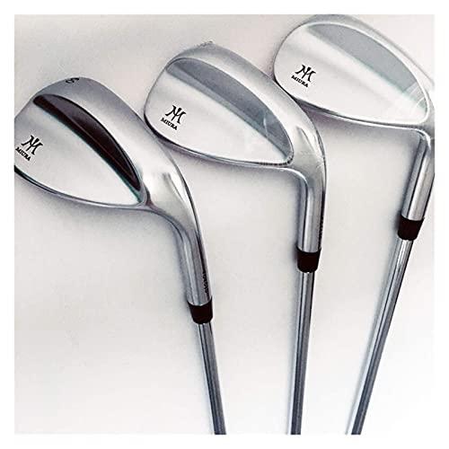 ZHBH Nuevos Palos de Golf Miura Tour Golf Wedges Unisex Forged Wedges Clubs Eje de Acero 52 o 56 60 Grados