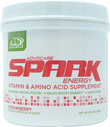 AdvoCare Spark Energy Drink (Strawberry) Canister 10.5oz