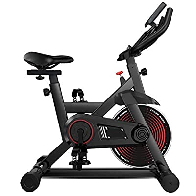 Tengma Fitness Stationary Bike Indoor Cycling Exercise Bike Professional Exercise Cycle Bike Sport Bike with LCD Digital Monitor Phone Holder Gym Home Office Cardio Workout Machine Training