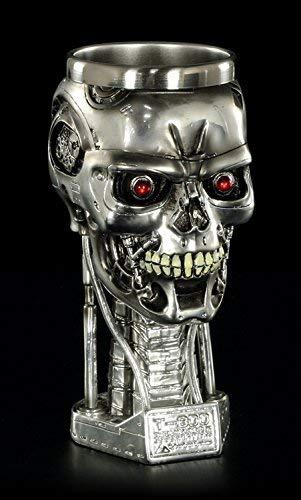 Kelch - Terminator 2 Schädel T-800 Figur
