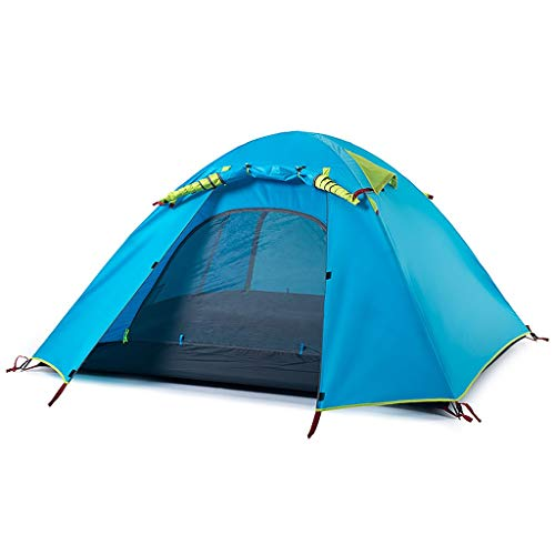 Camping Tents, Camping Tents | 2-4 Person Family Tent Outdoor Double Waterproof Sunscreen | Very Suitable For The Beach, Outdoors, Travel, Hiking, Size 3 (Size : 3 man)
