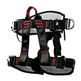 Climbing Harness Safety Thicken Adjustable Half Body Harness for Rock Mountain Tree Climbing <span class='highlight'>Cave</span> Rescue Hand <span class='highlight'>Tools</span> Accessories