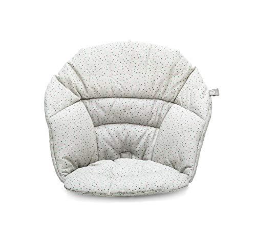STOKKE® Clikk™ Kissen - Mehr Komfort und extra Halt für Babys, die gerade das Sitzen erlernen - Farbe: Grey Sprinkles