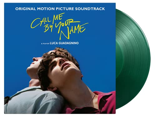 Call Me By Your Name Original Motion Picture Soundtrack - Exclusive Limited Edition Transparent Green Colored Vinyl 2LP